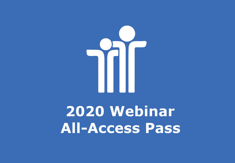 2020 Webinar All-Access Pass